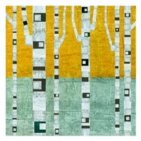 Early Winter Birches Fine Art Print