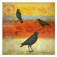Crow Crossroads Fine Art Print