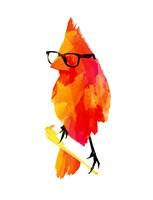 Punk Bird Fine Art Print