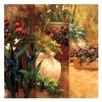 Flower Pots Right Fine Art Print