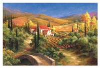 Tuscan Bridge Fine Art Print