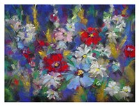 Red, White and Bloom Fine Art Print