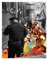 Crackdown Fine Art Print