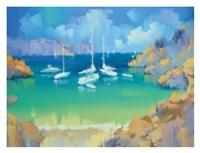 Cala Llombards VI Fine Art Print