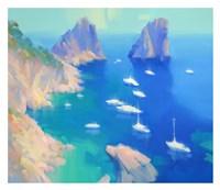 Capri II Framed Print