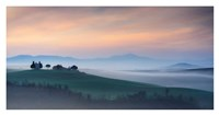 Capella di Vitaleta at Dawn - Tuscany I Fine Art Print