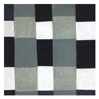 Gray Plaid 1 Fine Art Print