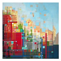 Neighborhood 8 Meridian Fine Art Print