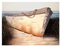 White Boat Fine Art Print