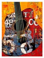 '58 Guitar Fine Art Print