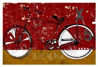 Red Bicycle Fine Art Print