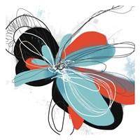 The Flower Dances 1 Framed Print