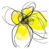 Yellow Petals Three Fine Art Print