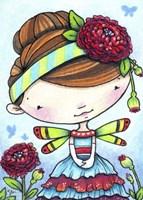 Ranunculus Fairy Fine Art Print