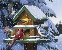 Winter Feast Fine Art Print