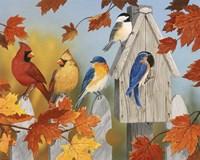 Fall Gathering Fine Art Print