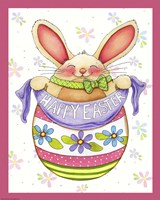 Egg Bunny Fine Art Print