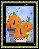 Pumpkin Pot Friends Fine Art Print