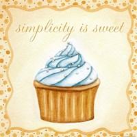 Vanilla Cupcake Fine Art Print
