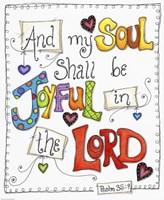 Words of Joy - Joyful Soul Fine Art Print