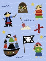 Pirates Fine Art Print