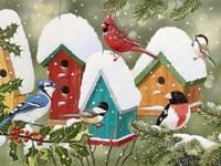 Winter Village Fine Art Print