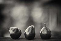 Three Red Pears on the Precipice Fine Art Print