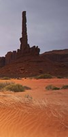 Monument Valley Panorama 1 3 of 3 Fine Art Print