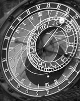 Astronomic Watch Praha 11 Fine Art Print