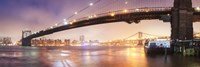Brooklin Bridge Pano 1 Fine Art Print