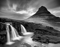3 Waterfalls BW Fine Art Print