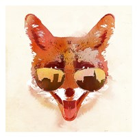 Big Town Fox Fine Art Print