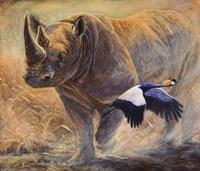African Thunder Fine Art Print