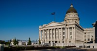Facade of Utah State Capitol Building, Salt Lake City, Utah Fine Art Print
