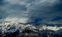 Clouds over the Wasatch Mountains, Utah, USA Fine Art Print