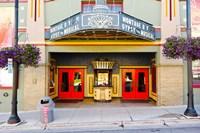 Facade of the Egyptian Theater, Main Street, Park City, Utah, USA Fine Art Print