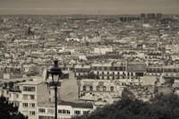 Montmartre, Paris, Ile-de-France, France Fine Art Print