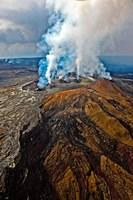 Steaming Volcano, Kilauea, Kauai, Hawaii Fine Art Print