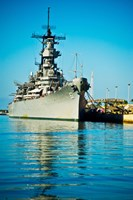 USS Missouri, Pearl Harbor, Honolulu, Oahu, Hawaii Fine Art Print
