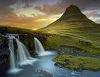 3 Waterfalls Fine Art Print