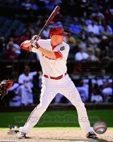 Mark Trumbo Batting Action 2014 Fine Art Print