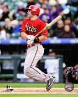 Paul Goldschmidt 2014 Action Fine Art Print