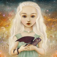 The Dragon Princess Fine Art Print