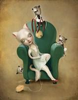 Belling the Cat Fine Art Print