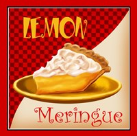 Lemon Meringue Fine Art Print