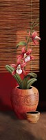 Orchid Vase II Framed Print