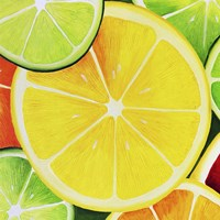 Sliced Lemon Fine Art Print