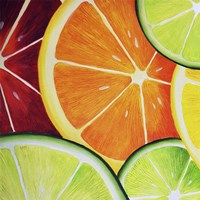 Sliced Orange Fine Art Print
