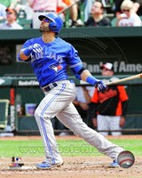 Jose Bautista 2014 Action Fine Art Print