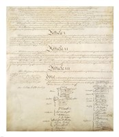 Constitution of the United States IV Fine Art Print